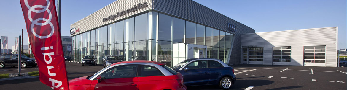 Photo de la concession Prestige Automobiles – Audi St Brieuc