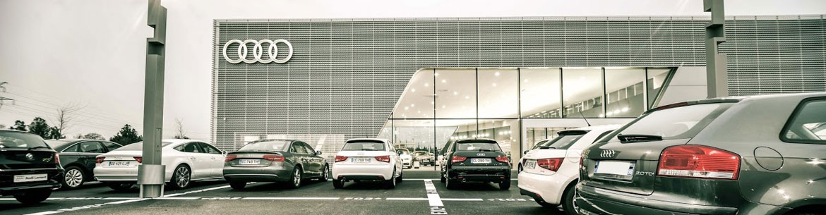 Photo de la concession Espace Premium – Audi Lorient